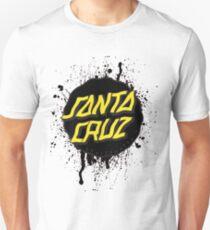 Santa Cruz logo splattered  Unisex T-Shirt
