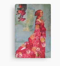 The Queen of  Roses Canvas Print