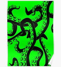 Tentacle Graphic Poster