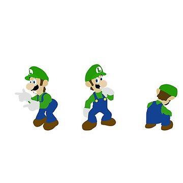 Luigi Taunt by simplesmash