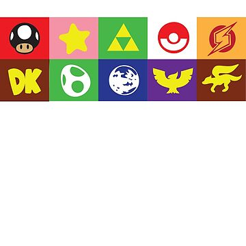 Smash 64 Emblems by simplesmash