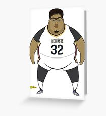 Brow-Beignets  Greeting Card