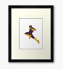 Captain Falcon Knee Framed Print
