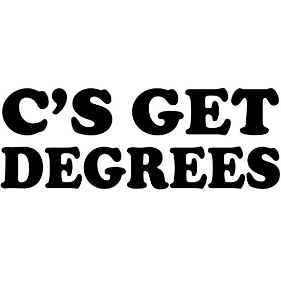 c s get degrees posters by trends redbubble