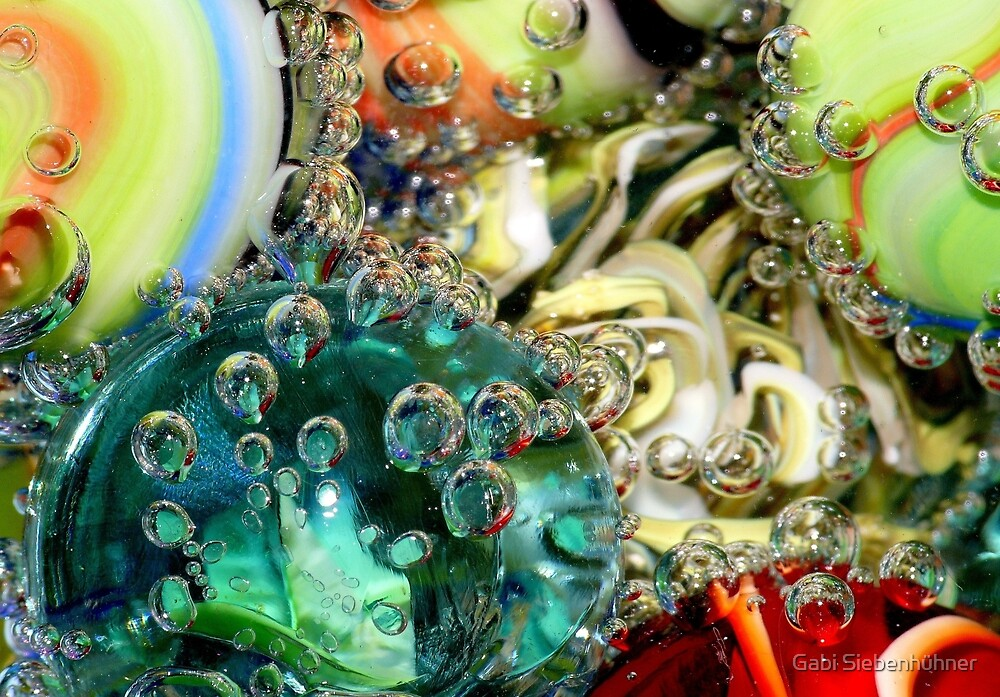 Marble with mineral water II by Gabi Siebenhühner
