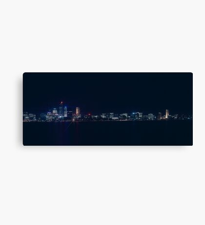 Night view from South Perth Canvas Print