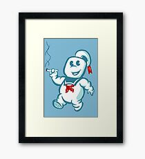 Stay Puft Puff Framed Print