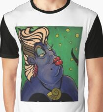 The Evil Sea Witch Ursulaaaaa Graphic T-Shirt