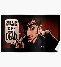 Blink and You're Dead Poster