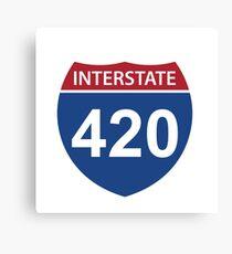 Interstate 420 Canvas Print