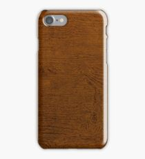 Retro Wood Grain iPhone Case/Skin