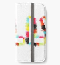 LILLY: Rainbow Smudge Design 1 iPhone Wallet/Case/Skin