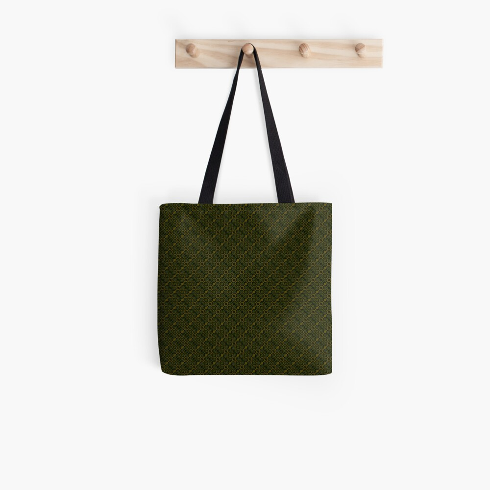 Juniper Green Swirl Tote Bag
