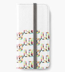 LILY: Rainbow Smudge Design 1 iPhone Wallet/Case/Skin