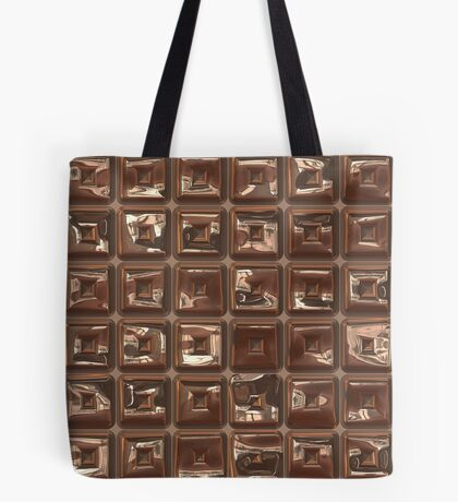 Golden Cubes Design by Julie Everhart Tote Bag