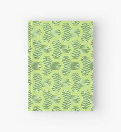 Retro Green Design by Julie Everhart Hardcover Journal