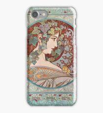 Green Ivy Goddess iPhone Case/Skin