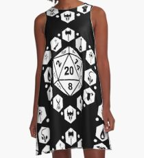 RPG Classes - White A-Line Dress