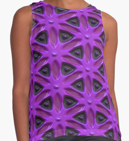 Passion for Purple Design by Julie Everhart Sleeveless Top