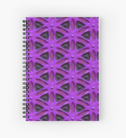 Passion for Purple Design by Julie Everhart Spiral Notebook