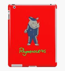 Rhymenoceros iPad Case/Skin