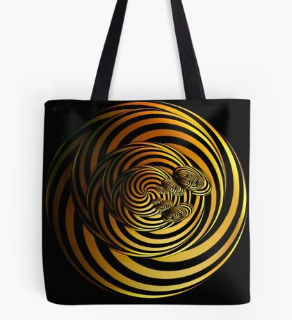 I Go In Circles by Julie Everhart Tote Bag