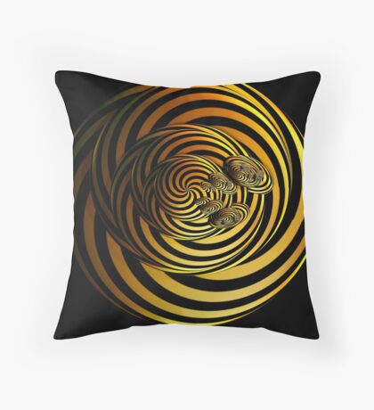 I Go In Circles by Julie Everhart Throw Pillow