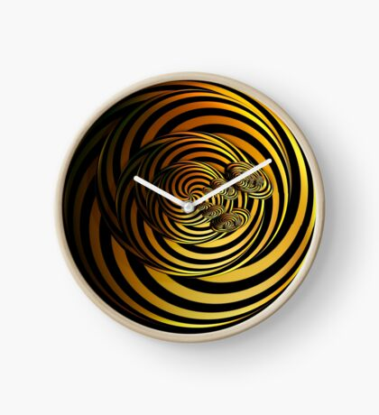 I Go In Circles by Julie Everhart Clock