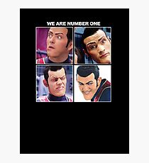 We are number one but it´s Let It Be cover Photographic Print