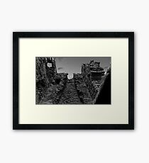 Unique Shot of a Tower in Kirkcaldy Framed Print