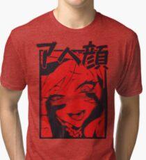 bloody a h e g a o  Tri-blend T-Shirt