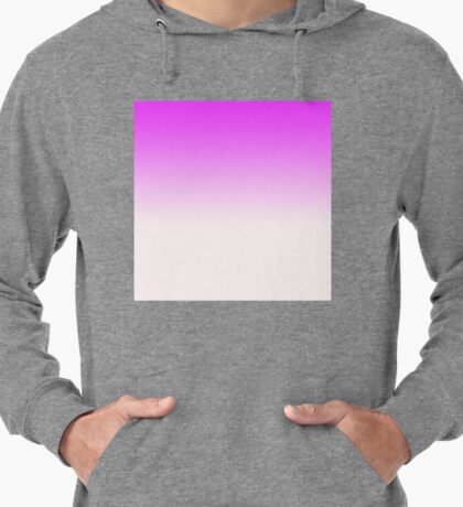 Ombre in Pink by Julie Everhart Lightweight Hoodie
