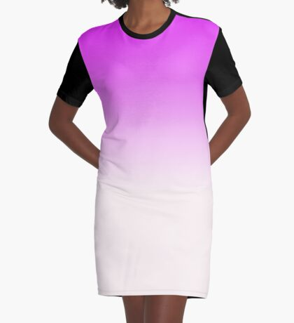 Ombre in Pink by Julie Everhart Graphic T-Shirt Dress