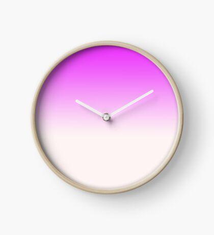 Ombre in Pink by Julie Everhart Clock