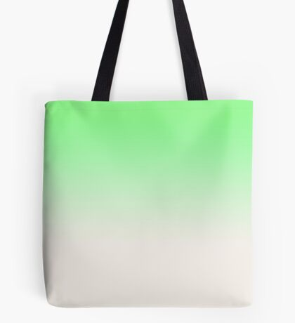 Ombre in Green by Julie Everhart Tote Bag