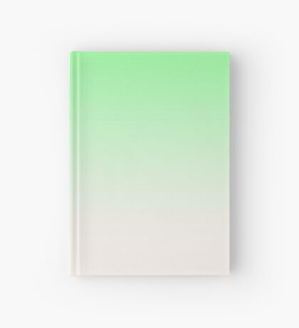 Ombre in Green by Julie Everhart Hardcover Journal