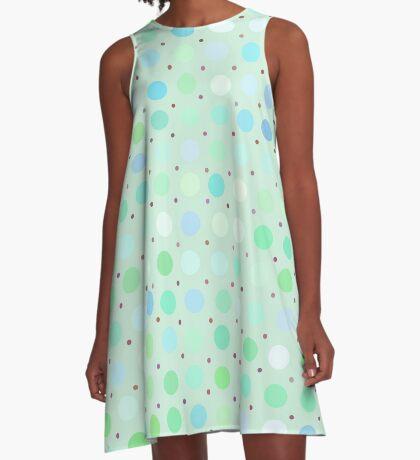 Polka Dots by Julie A-Line Dress