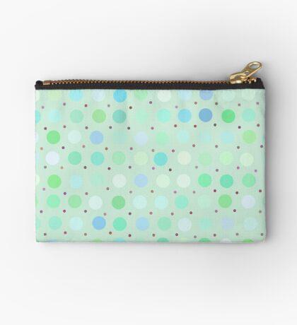Polka Dots by Julie Zipper Pouch