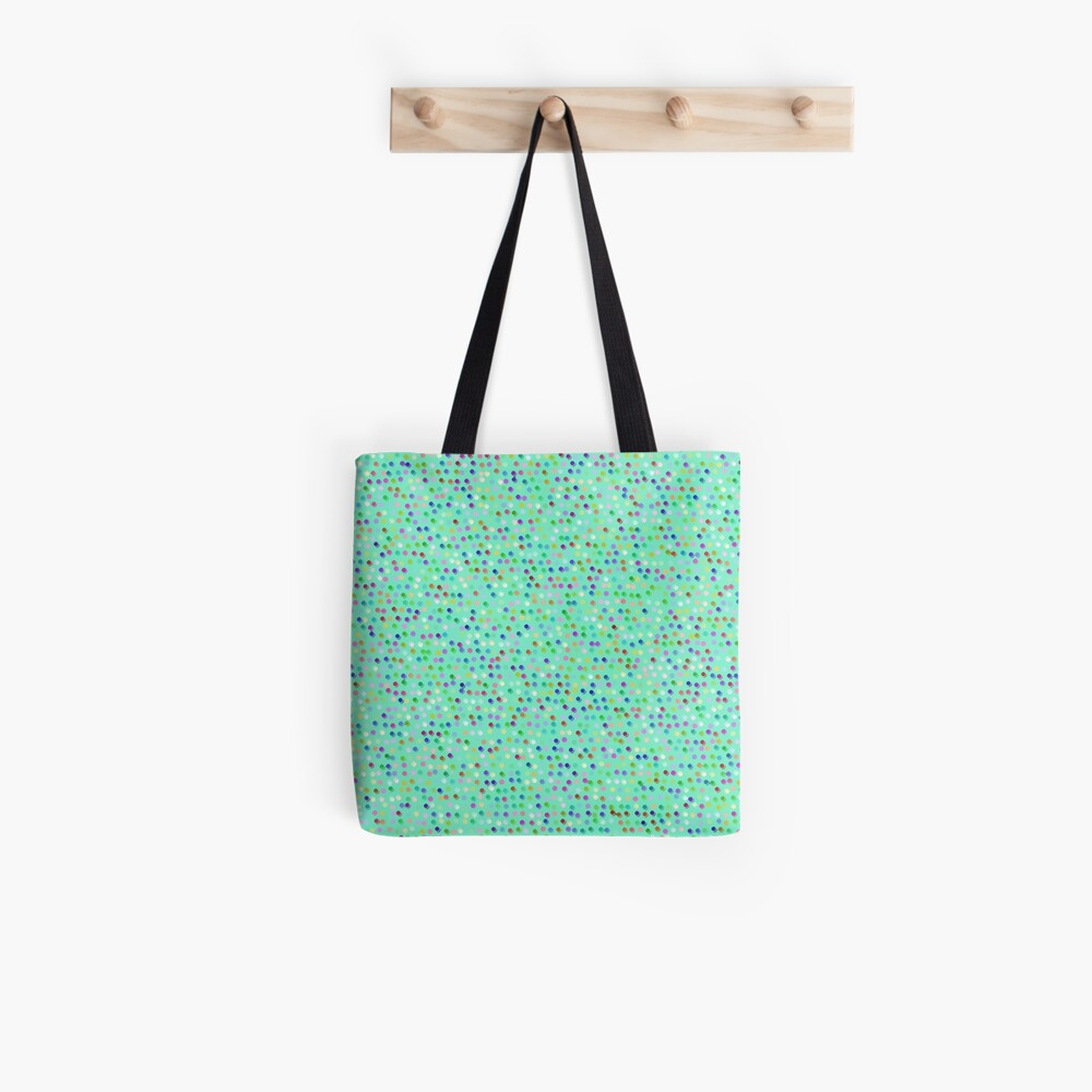 Tiny Dots by Julie Everhart Tote Bag