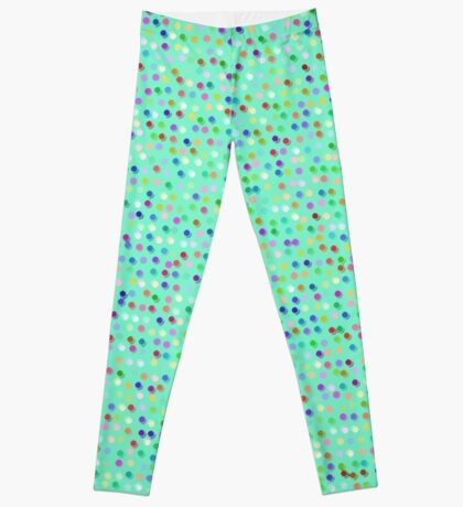 Tiny Dots by Julie Everhart Leggings
