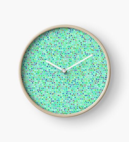 Tiny Dots by Julie Everhart Clock