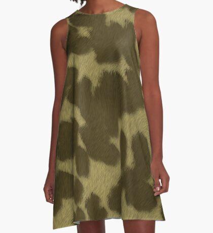 Animal Fur  by Julie Everhart A-Line Dress