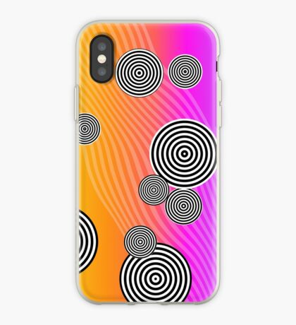 Back to the 80's by Julie Everhart iPhone Case