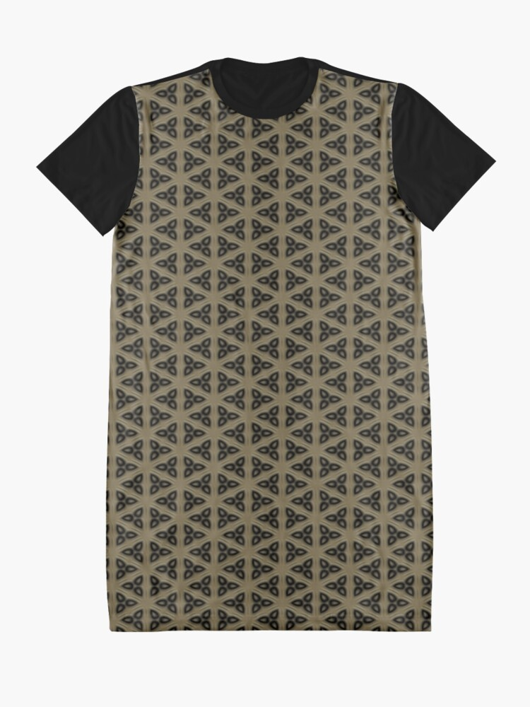 Alternate view of Digital Weave by Julie Everhart Graphic T-Shirt Dress