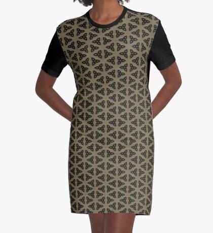 Digital Weave by Julie Everhart Graphic T-Shirt Dress