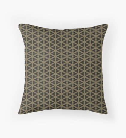 Digital Weave by Julie Everhart Throw Pillow