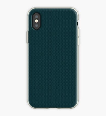 Deep Teal  Weave by Julie Everhart iPhone Case
