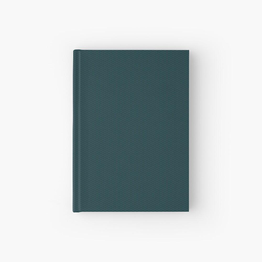 Deep Teal  Weave by Julie Everhart Hardcover Journal