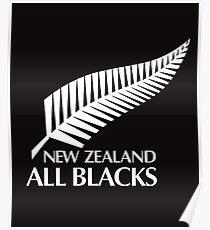 Kiwi All Blacks New Zealand  Poster