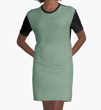 Sage Weave by Julie Everhart Graphic T-Shirt Dress